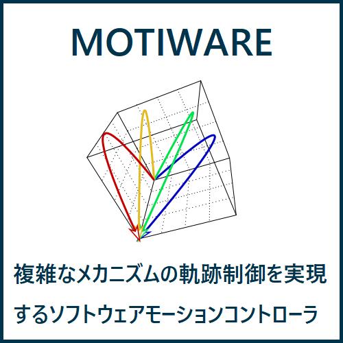 ソフトウェアモーションコントローラ MOTIWARE の説明