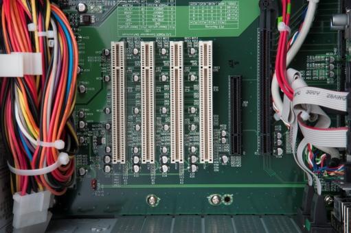 リアルタイム制御用パソコンPM00244HのPCI、PCI-Expressスロット