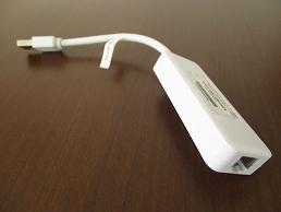 USB-LAN変換アダプタ